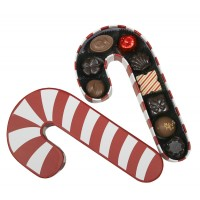 Candy Cane Box with Signature Chocolates