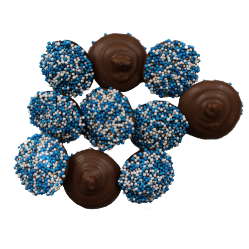 Non-Pareils-Blue and White