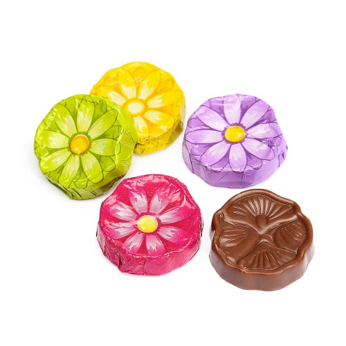 Chocolate Foiled Daisies