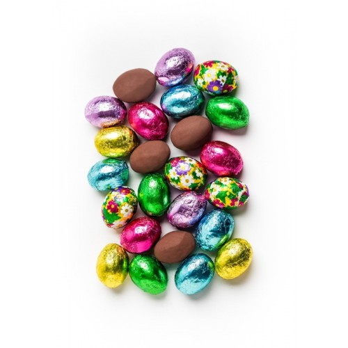 Foiled Milk Chocolate Easter Eggs