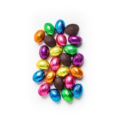 Foiled Dark Chocolate Eggs