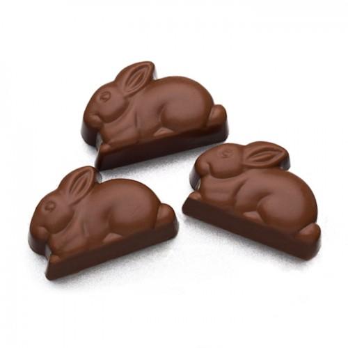 Bunnykins - Solid Chocolate (doz)