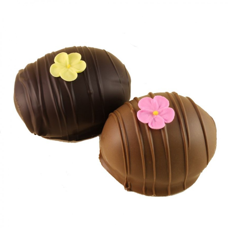Filled Eggs- Coconut Cream
