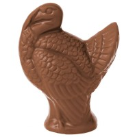 4 Ounce Solid Chocolate Turkey