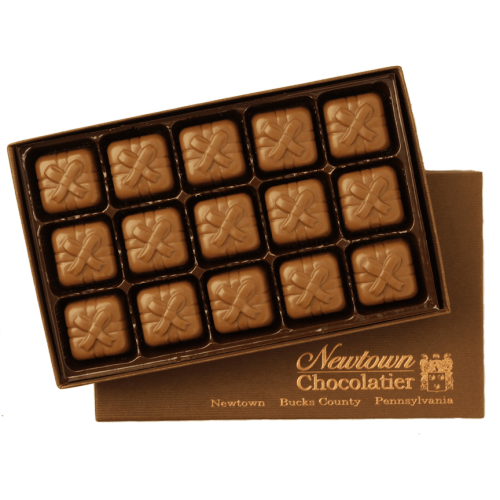 Caramels in a 15 Piece Gift Box